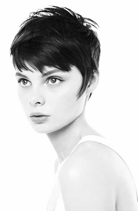Messy Short Hairstyles for Girls
