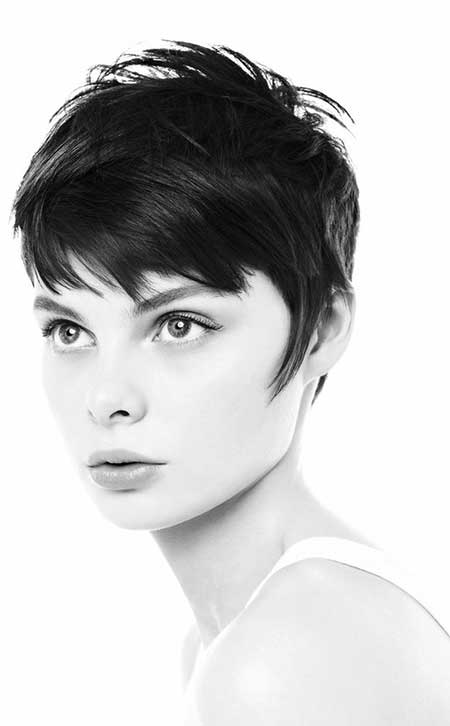 Messy and Elegant Short Haircut