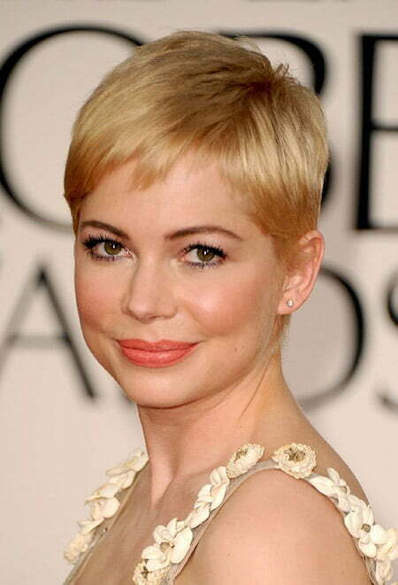 Michelle Williams Short Cut