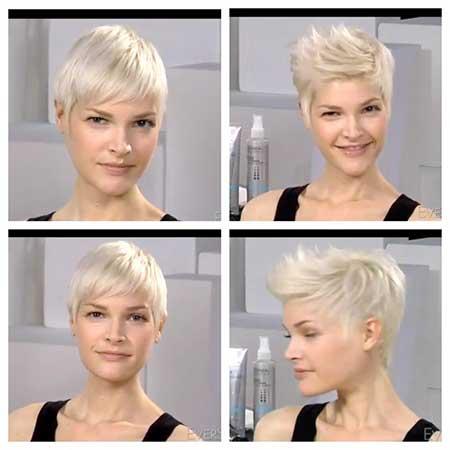 Modern pixie style haircuts