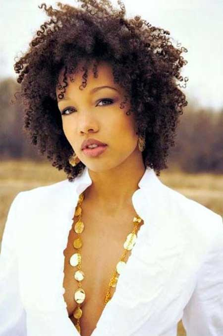 Natural Kinky Hairstyle for Black Women