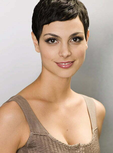 Nice And Lovely Wavy Pixie Cut