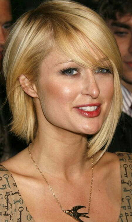 Paris Hilton Short Hair