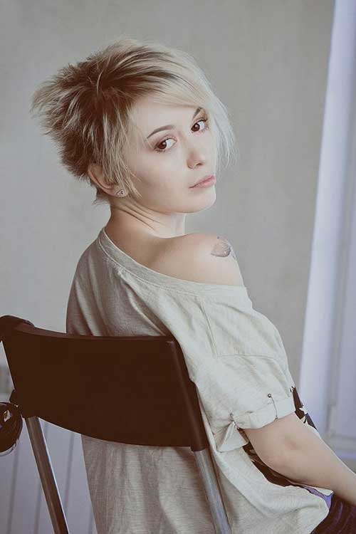Pictures of Short Pixie Hairstyles-11
