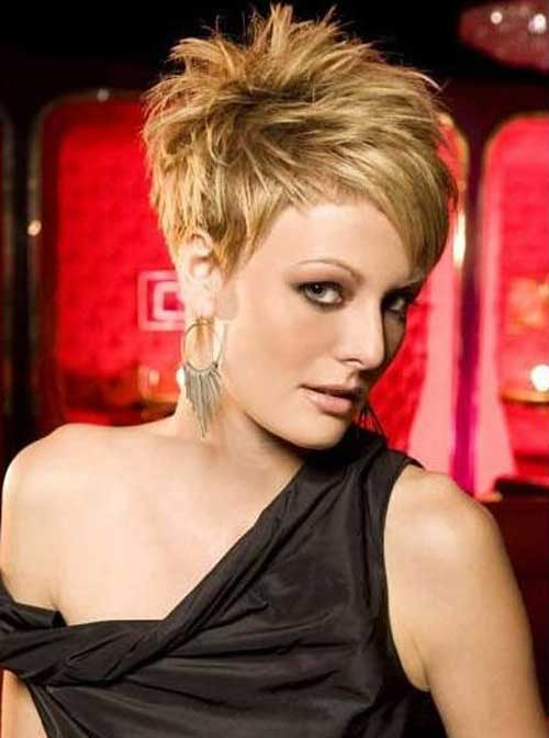 Pictures of Short Pixie Hairstyles-6