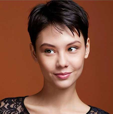 Pixie Haircut for Asian Women
