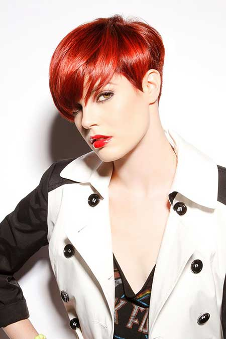 Radiant Red Short Hair