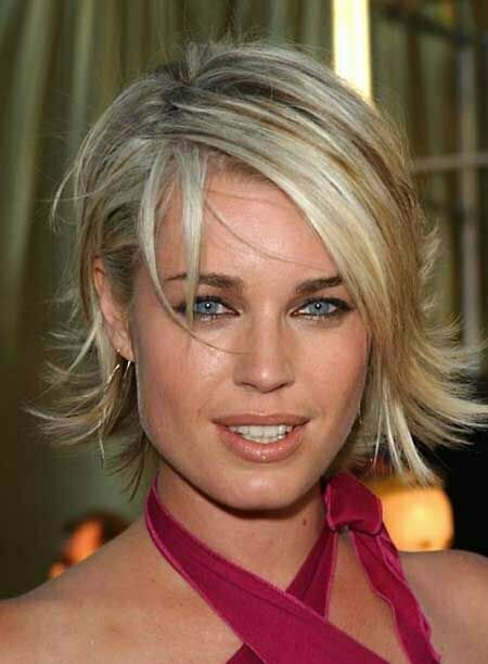 Rebecca Romijn's Fabulous Flip Out Bob Cut