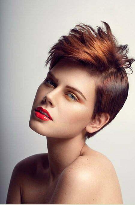 Red Reflexion Hair