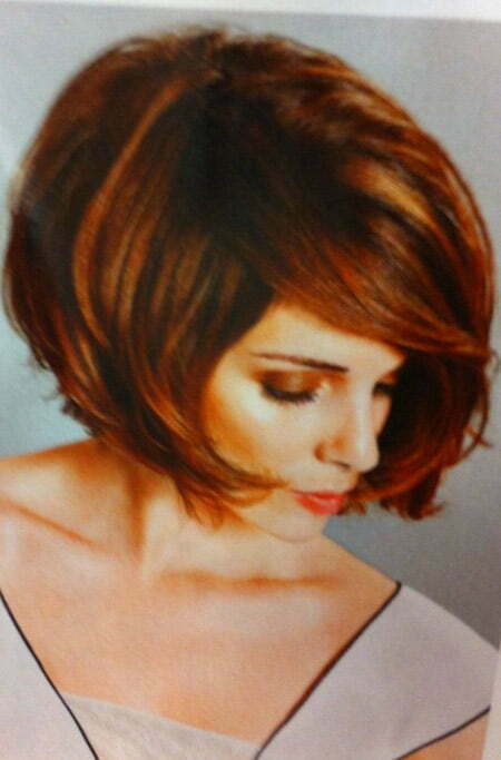 Red Thick Bob