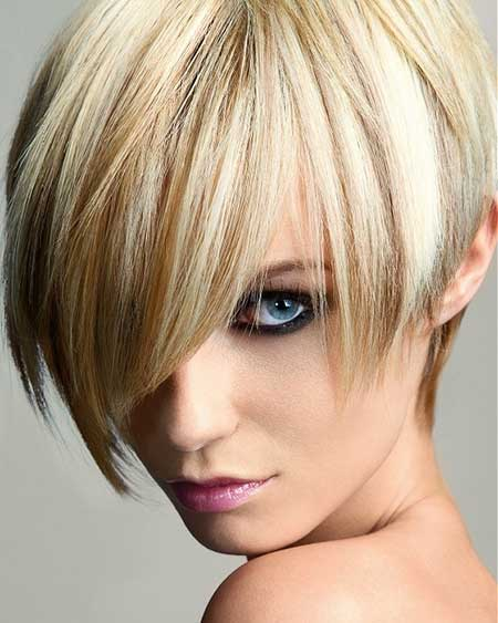 Short Asymmetric Hair