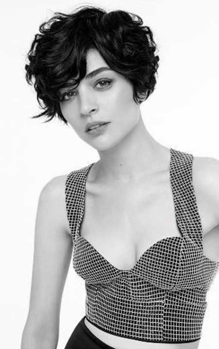 Outstanding Wavy Short Hairstyles For Women Short Hairstyles 2016 2017 Hairstyles For Men Maxibearus