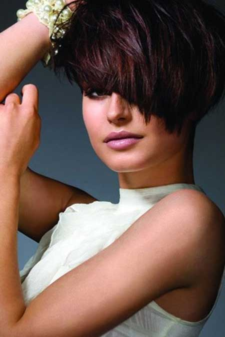 Short Bob with Lovely Fringe