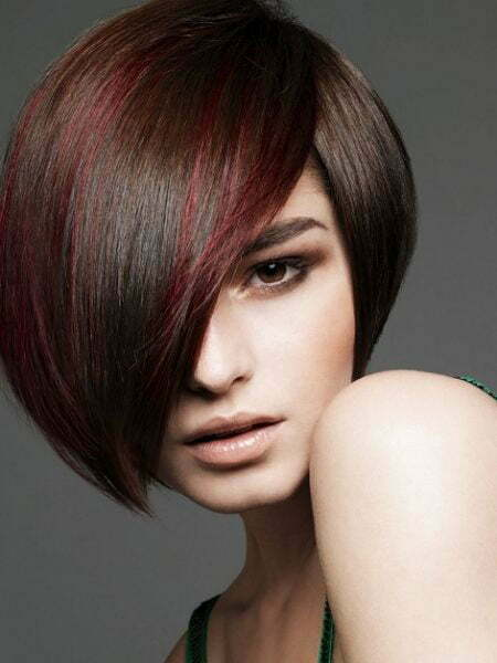 Short Dark Bob Haircut