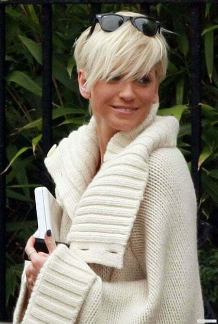 Super cute short blonde haircuts