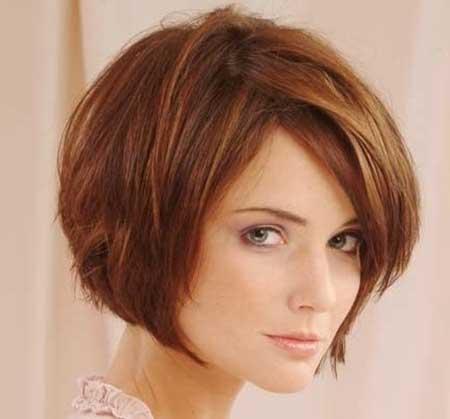 The Short Symmetrical Bob With Heavy Bangs