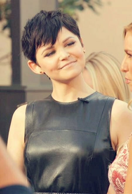Ginnifer Goodwin Short Hair Round Face