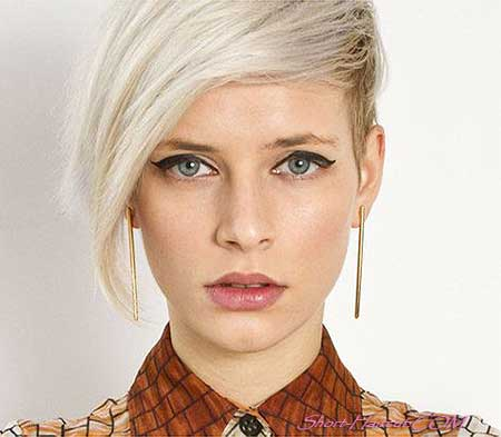 Awe Inspiring 16 Lovely Short Cuts For Oval Faces Short Hairstyles 2016 2017 Short Hairstyles Gunalazisus