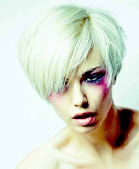 Short Platinum Bob
