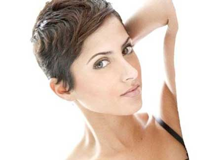 Short Sleek Pixie Cut