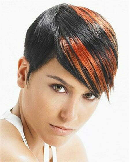 Short Straight Brown Hairstyles