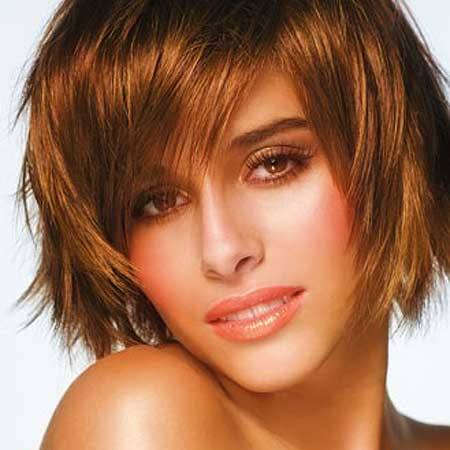 Short Trimmed Hair Style