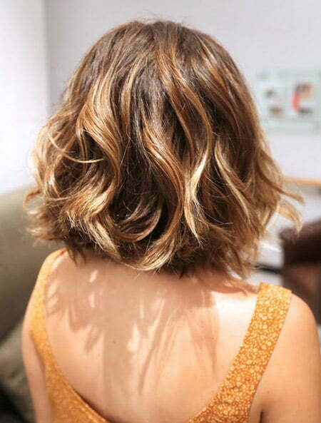 Short Wavy Ombre Hair