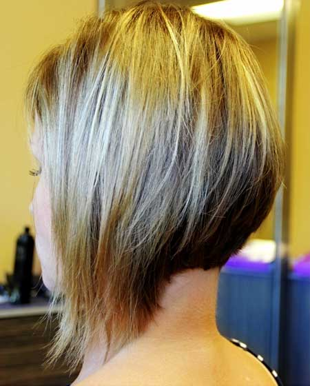 Medium Hairstyles Long In Bob Haircut Long In Front Short In Back