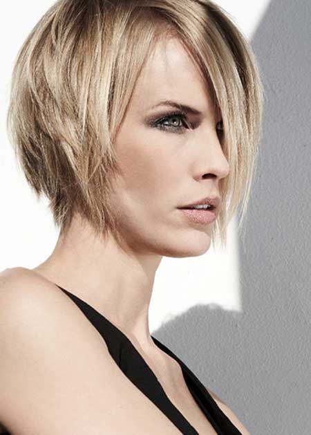 Short length blonde haircuts