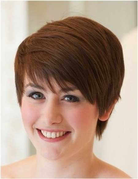 Side Combed Pixie Hairstyle
