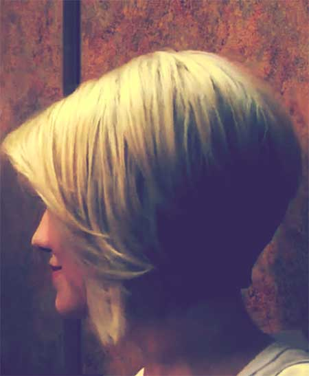 Side View of Bob Haircut