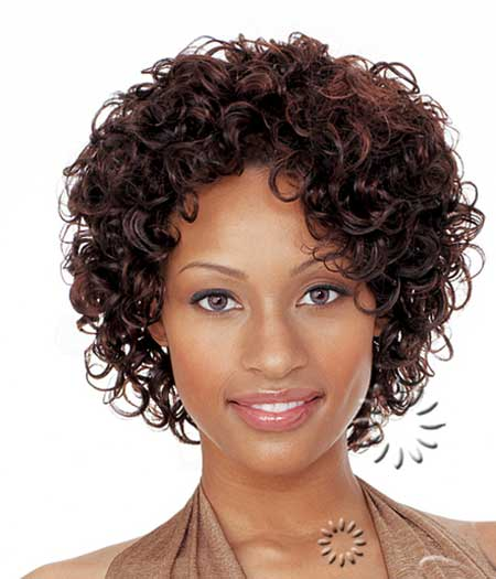 Simple Short Curly Hair