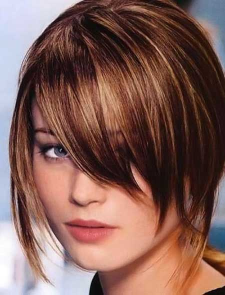 Sleek Asymmetrical Bob Hairstyle
