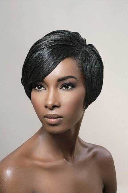 Sleek Graduated Bob Cut
