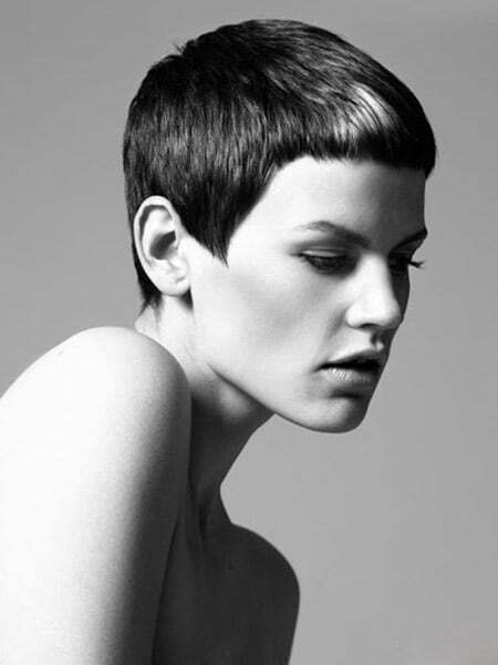 Sleek Pixie Cut