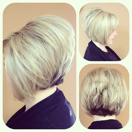 Stacked-up Bob Hairstyle