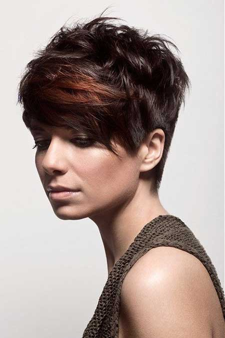 Stylish Messy Pixie Hairstyle