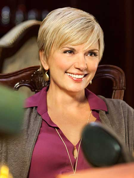 Teryl Rothery Short Hairstyle