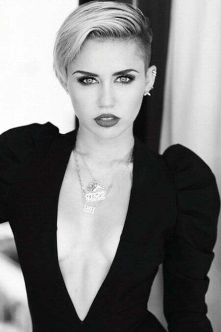 The Awesome Miley Cyrus' Pixie Cut