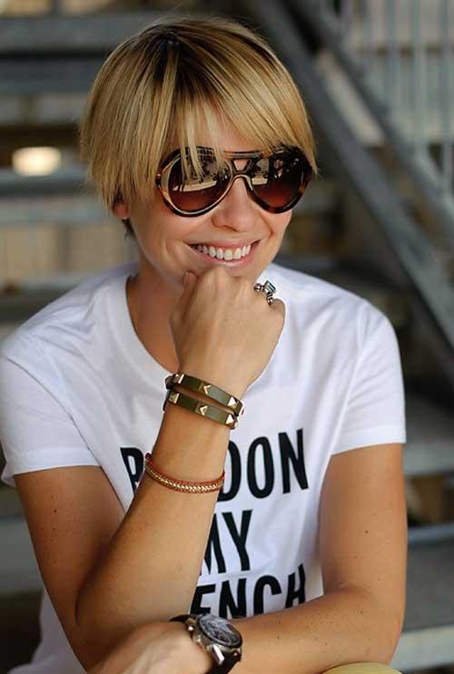 Top 20 Short Blonde Haircuts-13