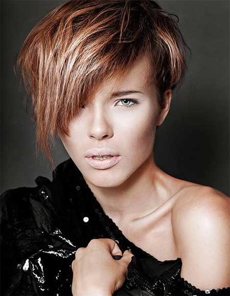 Trendy Asymmetric Bob