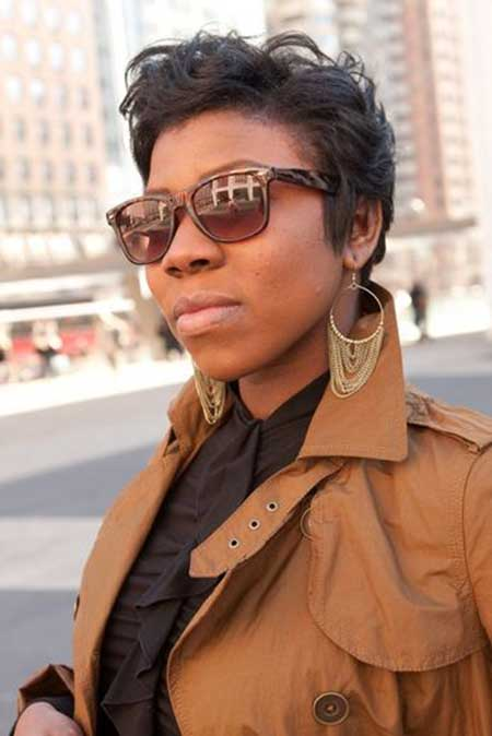 Admirable 25 Nice Short Hairstyles For Black Women Short Hairstyles 2016 Hairstyles For Women Draintrainus