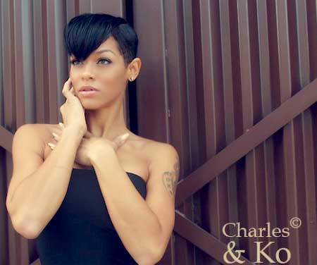 Black Short Hairstyles With Bangs African American African American