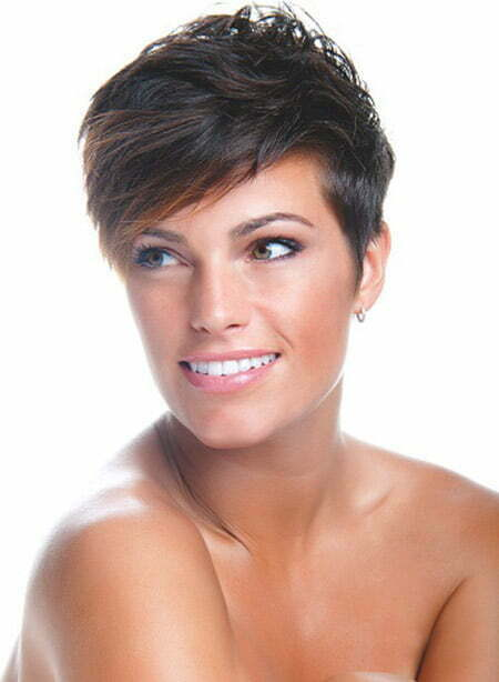 Very Attractive Pixie Cut