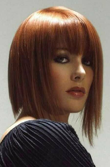 Very Captivating Asymmetric Bob Cut