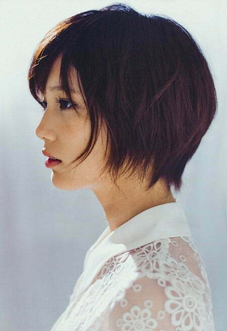 Very Lovely Blunt-End Bob Cut