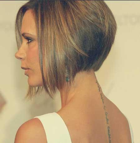 Victoria Beckham A-line Bob Hairstyle