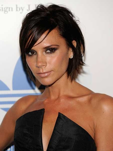 Victoria Beckham short hair 2013