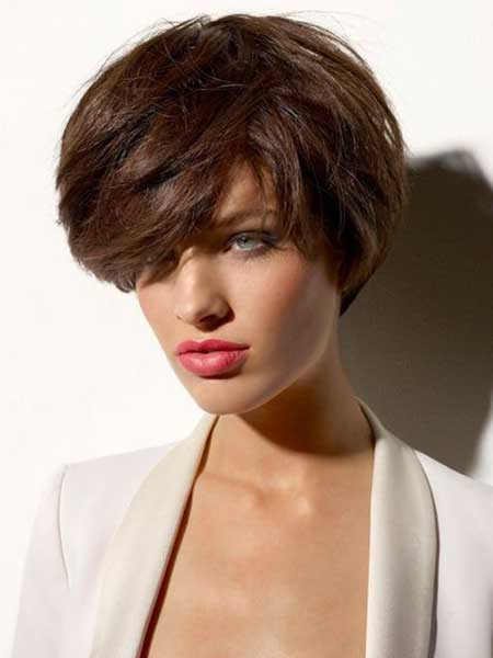 Voluminous Front  Typical Bob Hairstyle