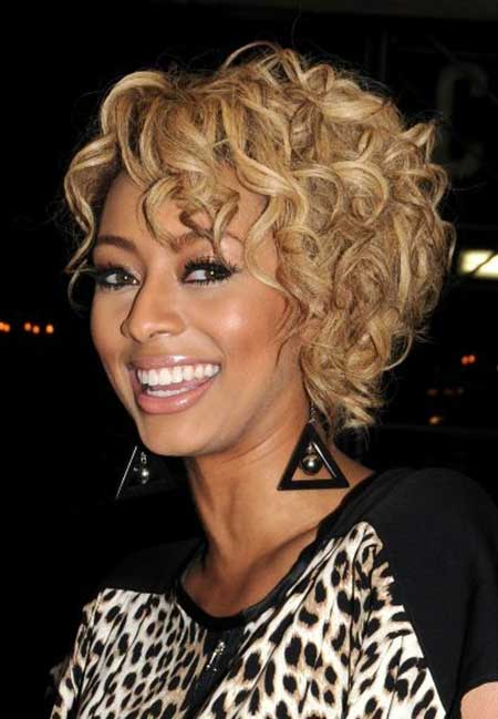 Wavy Hairstyle of Keri Hilsons